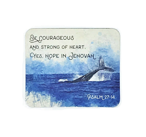 Be Courageous FRIDGE MAGNET