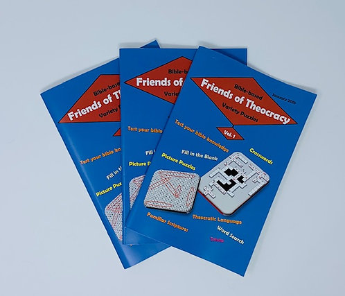 Puzzle Book- Friends of Theocracy