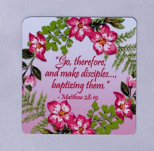 Matthew 28:19 Magnet