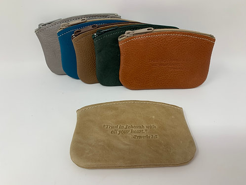 Scripture Change Purse-Trust In Jehovah Prov.3:5 English