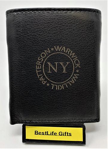 Wallet – TriFold - Black