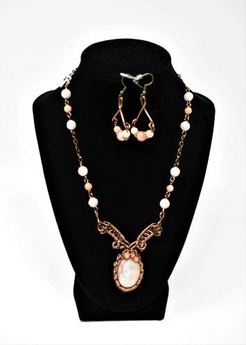 Handmade Jewelry Combo- White Howlite