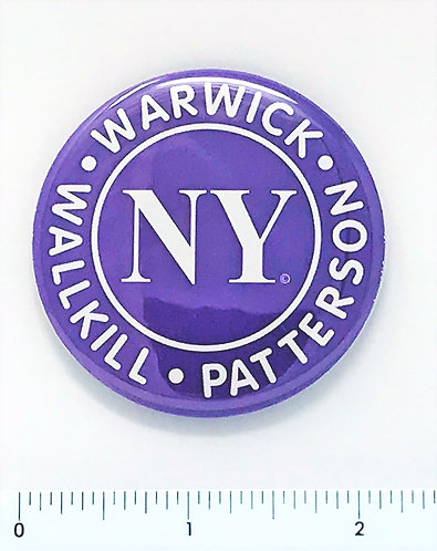 Button Magnet with NY Logo