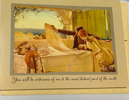 'Witnesses of Me' Greeting Card