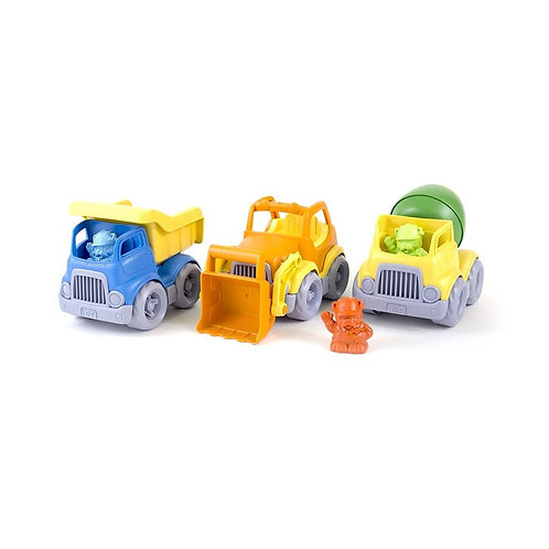 Green Toys Construction Vehicles- 3 pack