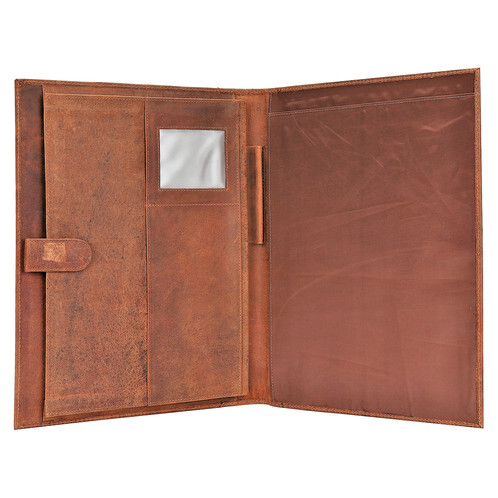 buy popular 84db9 78ce9 Leather Business Folio
