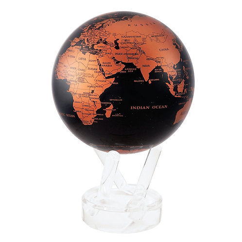 Copper and Black - MOVA Globe