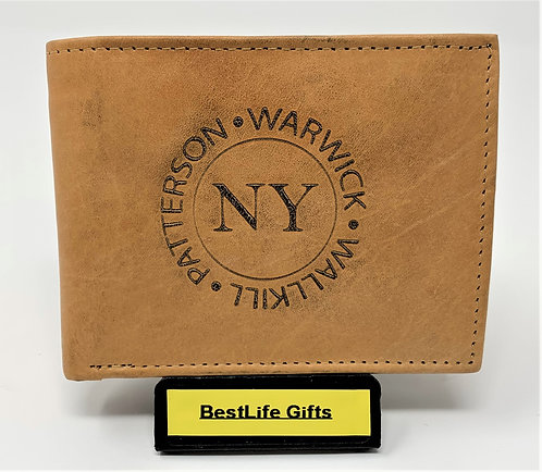 Wallet – BiFold - Tan