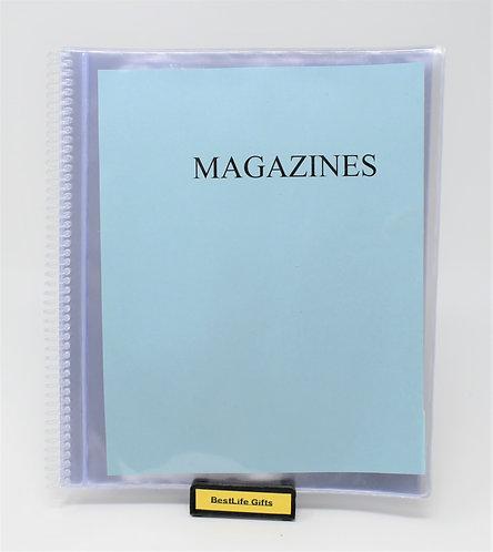 Spiral Brochures/Mag. Holder