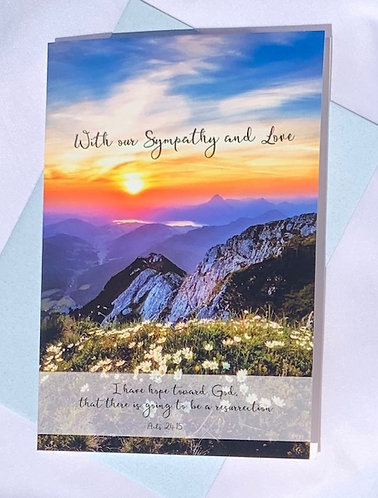 Sympathy Card with Envelope