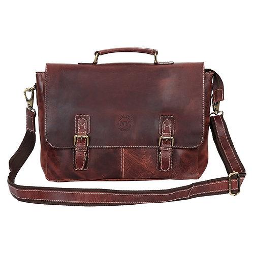 John's Messenger Bag, Shoulder Bag, Cross Body Bag - Genuine Leather