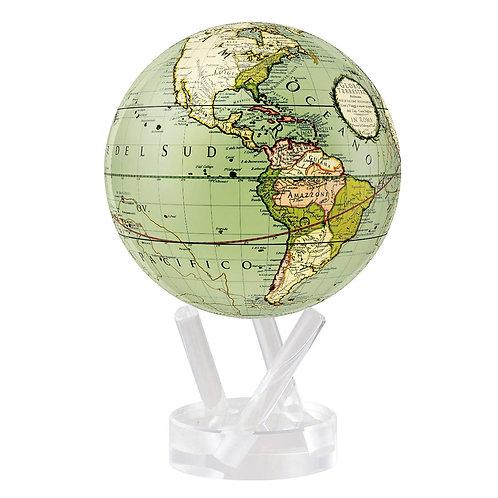 Antique Terrestrial Green - MOVA Globe