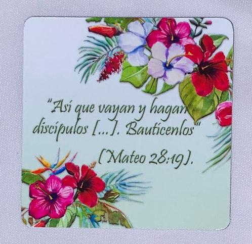 Mateo 28:19 Scripture Magnet