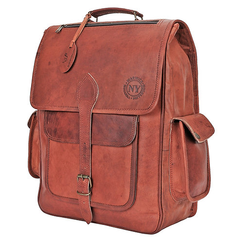 Paul's Backpack - Genuine Leather
