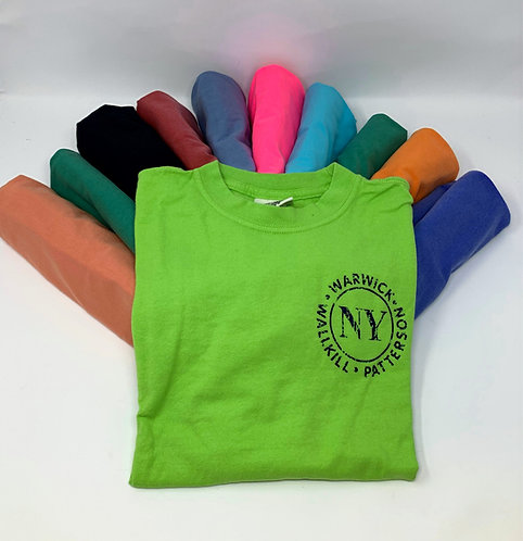 T-Shirts NY Logo Youth Short Sleeve
