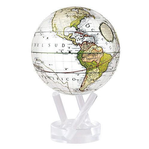 Antique Terrestrial White - MOVA Globe