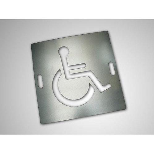 Pochoir handicap