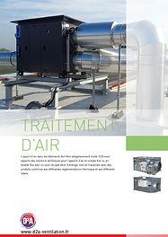 Catalogue traitement d'air D2A Ventilation