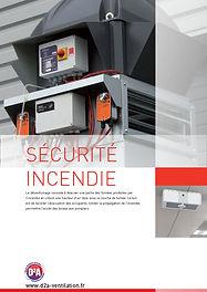 Catalogue sécurité incendie D2A Ventilation