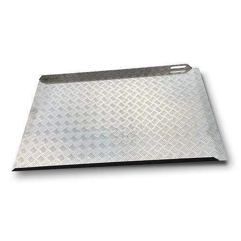 Rampe d'accès PMR droite amovible en aluminium - PMR EQUIPEMENT
