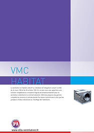 Catalogue VMC Habitat D2A Ventilation