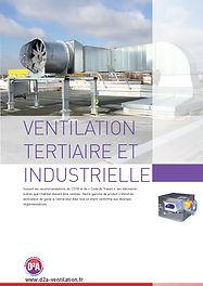Catalogue Ventilation Tertiaire et Industrielle D2A Ventilation