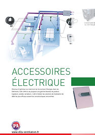 Accessoires électriques ventilation