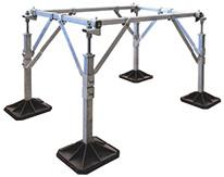Les châssis et socles CTA sur mesure