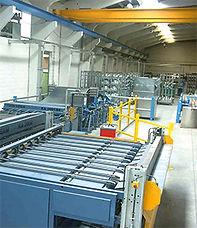 Fabrication gaines de ventilation rectangulares