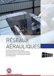 Catalogue réseaux aérauliques D2A VENTILATION SUPPORTAGE FIXATIONS CLIMATISATION