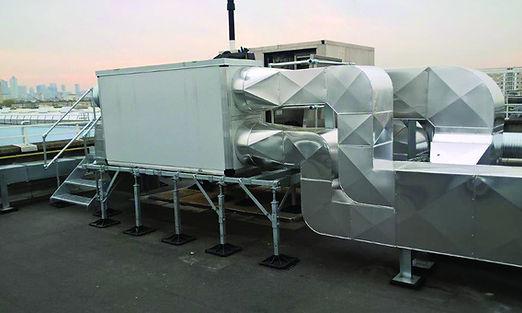 Supportages et fixations D2A Ventilation