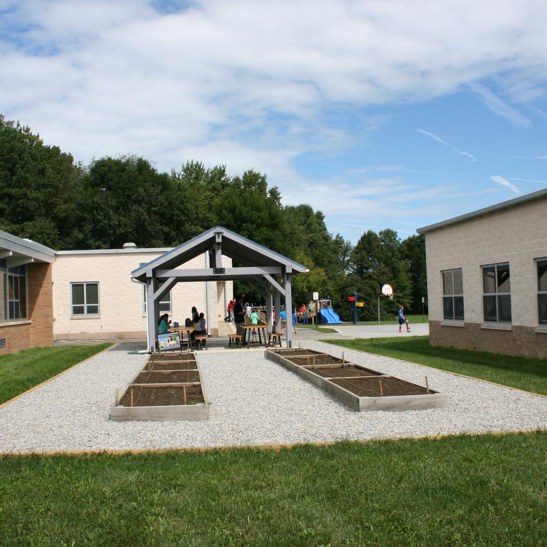Lombardy Elementary School garden