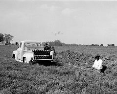 1958-Tile Drainage at the harris farm at