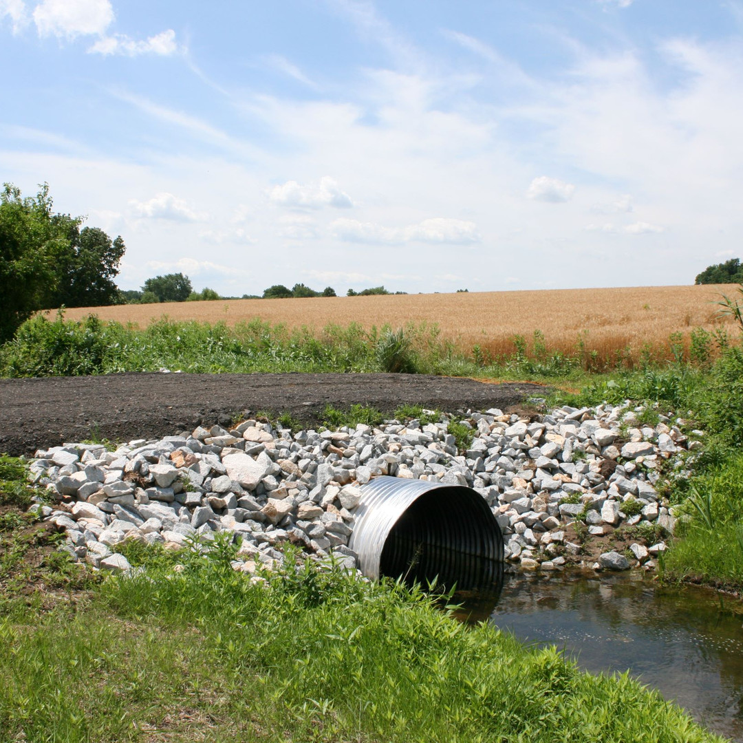 Culvert pipe over farm ditch.JPG