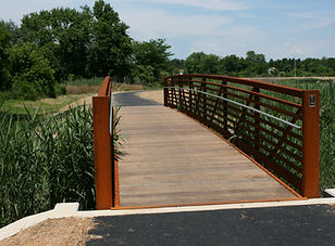 Branch Canal Path Pedestrian Bridge.JPG