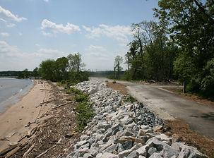 Army Creek Dike North End.JPG
