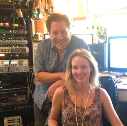 in the studio with Jewel