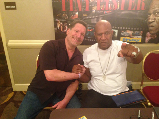 Tiny Lister makes me look average sized