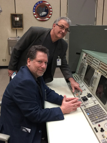 with Jay Vernali at NASA. Wear a suit and you can go anywhere.