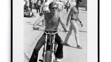 Robert Redford moto - Collection Galerie