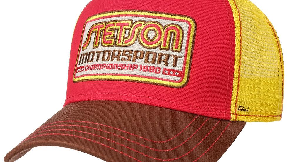Casquette Trucker Motorsport Jaune