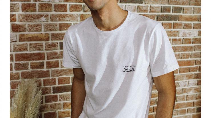 T-shirt Blanc Bali blanc- Cuisse de Grenouille
