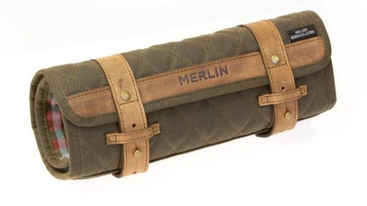 Merlin Chaplow tool roll Vert olive