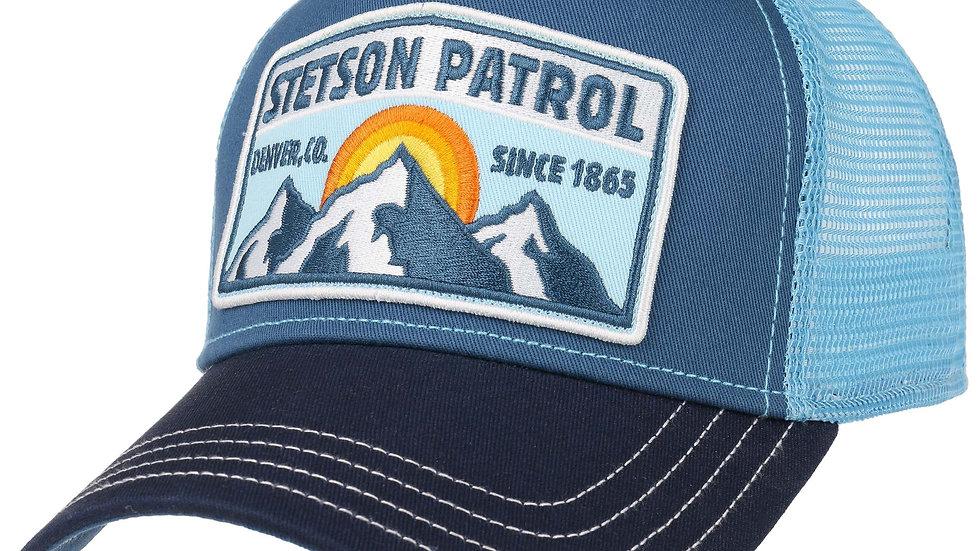 Casquette Trucker Patrol Bleu