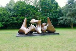 Three Piece Sculpture: Vertebrae 197