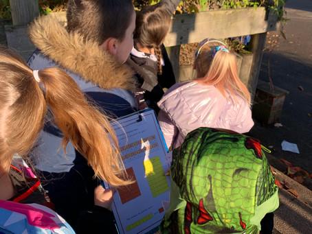 KS1 Hallowe'en Treasure Hunt  - with a mathematical twist