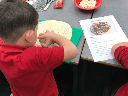 Year 1 & 2 Cookery Club