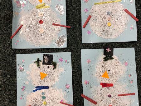 Cute Christmas Craft from Foundation Stage