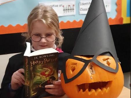 Treasure Hunting and Harry Pumpkin Potter