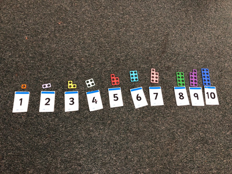 Number magic with Numicon in Foundation Stage